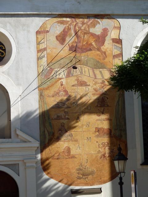 Sun dial sun-dial sundial, religion.