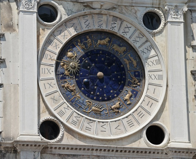 Sun dial zodiac astronomy, travel vacation.