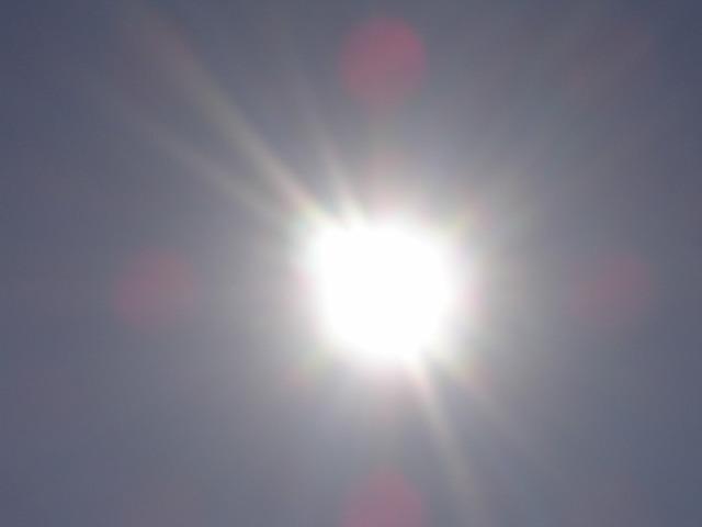 Sun sky mouth guard.