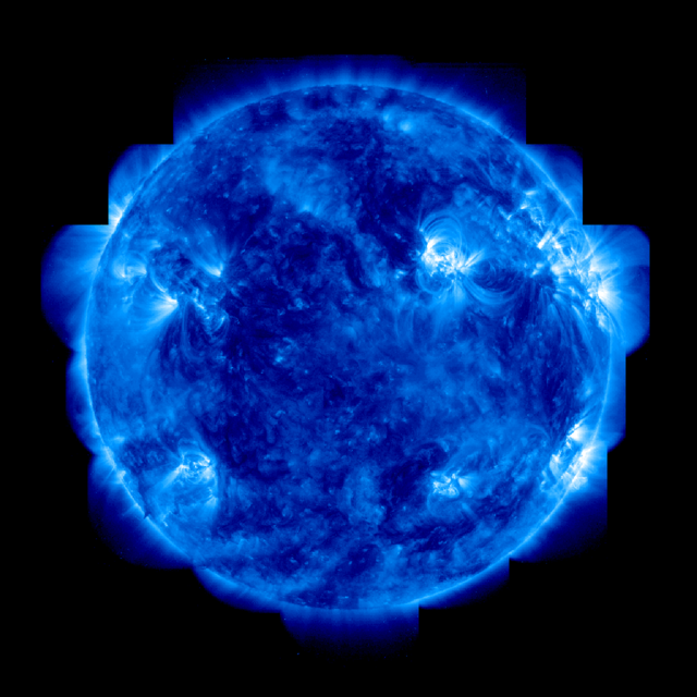 Sun solar flare uv, science technology.