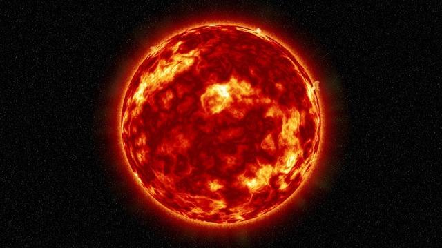 Sun solar solar flare.