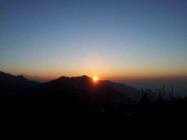 Sunrise penny hill annapurna.