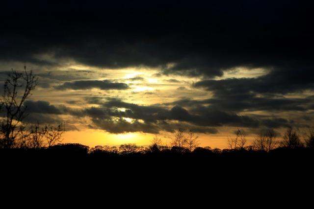 Sunset twilight evening, travel vacation.