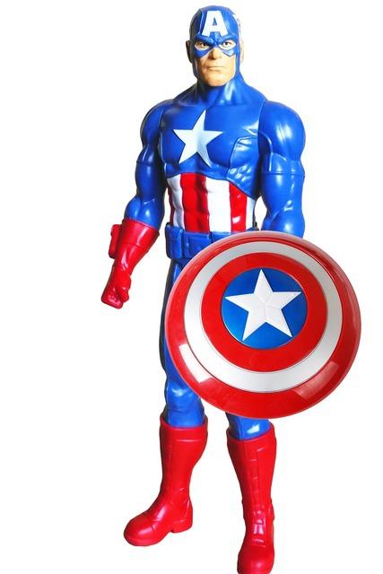 Super hero captain america america.