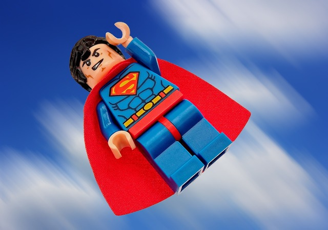 Superman lego superhero, people.