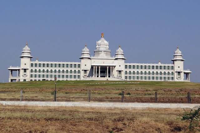 Suvarna soudha legislative building belgaum.