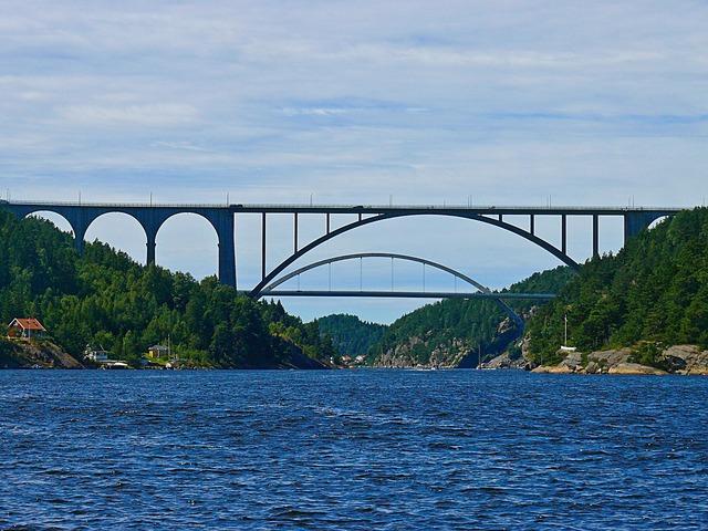 Svinesund bridge iddefjorden.