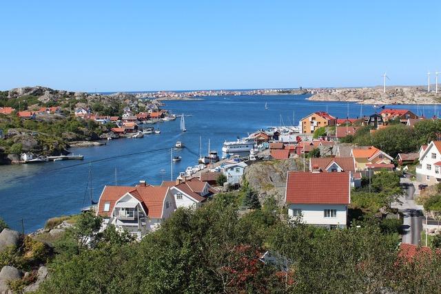 Sweden boats port.