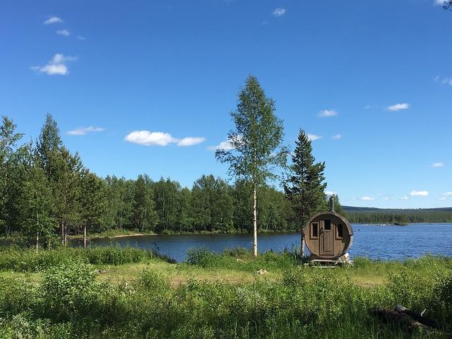 Sweden midsommar nature, nature landscapes.
