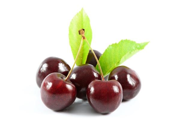 Sweet cherries delicious dessert healthy nutrition, food drink.