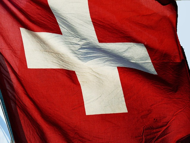 Swiss flag switzerland banner.