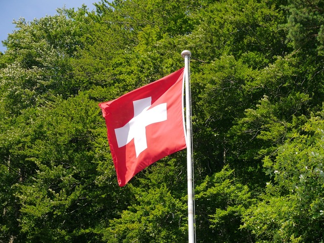 Switzerland flag swiss flag.