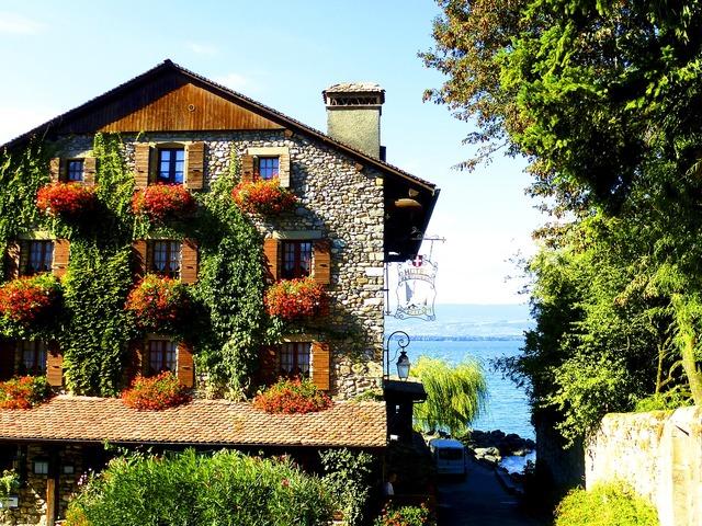 Switzerland hotel business, business finance.