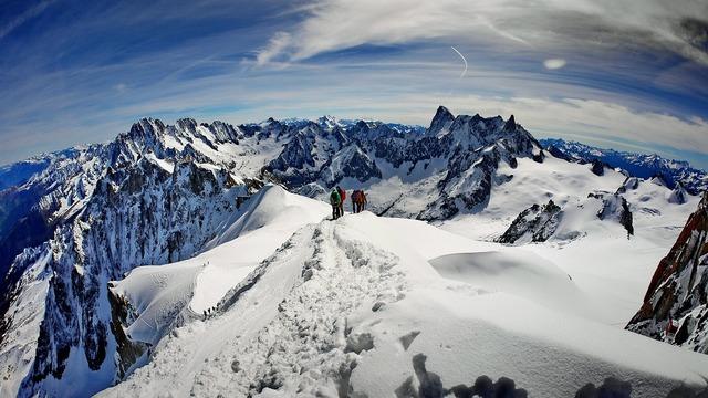 Switzerland montblanc montreux.