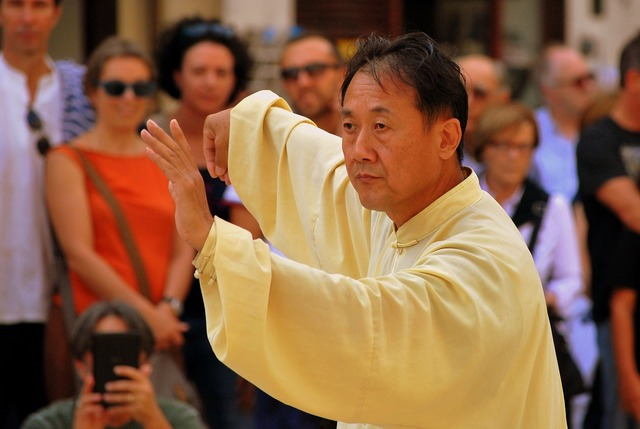 Tai chi taiji martial.
