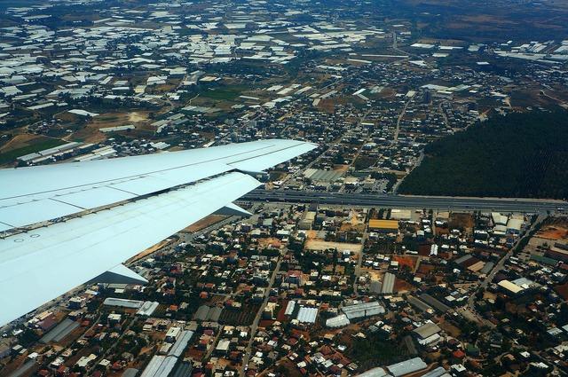 Takeoff flight wing, travel vacation.