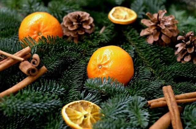 Tangerines fruit frisch, food drink.