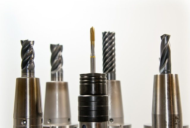 Taps thread drill, industry craft.