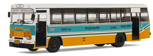 Tata lpo 1512 city city bus, transportation traffic.