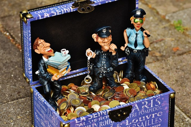 Taxes tax evasion police, business finance.