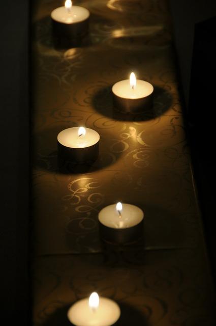 Tea lights gift candles.
