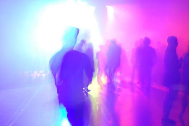 Techno music celebration, music.