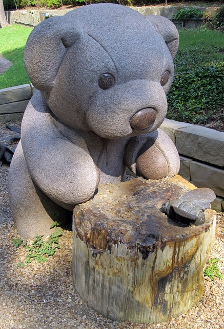 Teddy bear sculpture park.