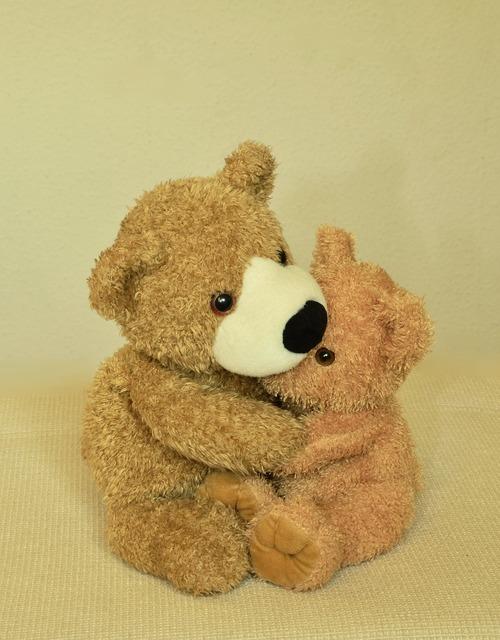 Teddy teddy bear soft toy, emotions.
