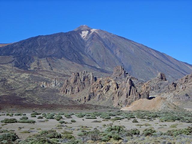 Teide tenerife spain, nature landscapes.