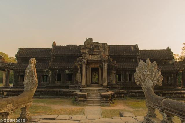 Temple angkor pagoda, religion.