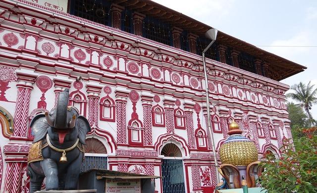 Temple architecture marikamba, religion.