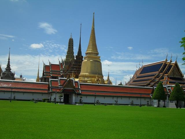 Temple bangkok thailand, religion.