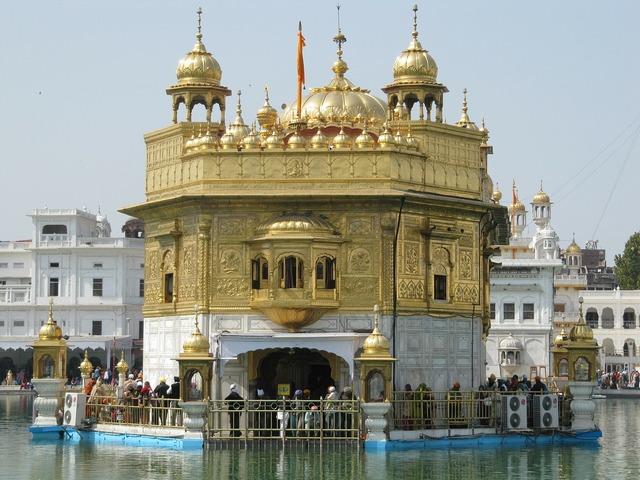 Temple golden religion, religion.