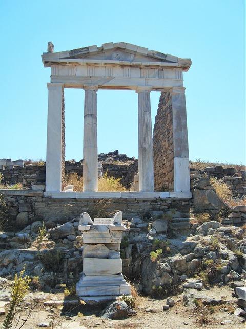 Temple greek temple travel, religion.