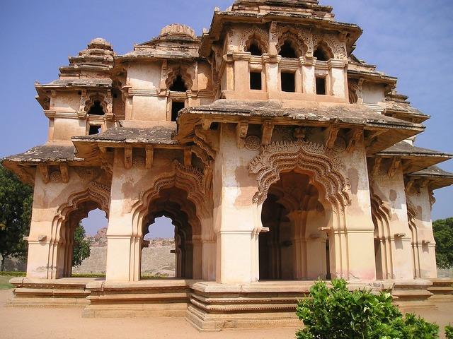 Temple hampi india, religion.