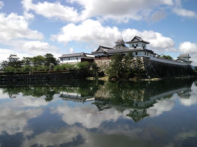 Temple japan castle, religion.