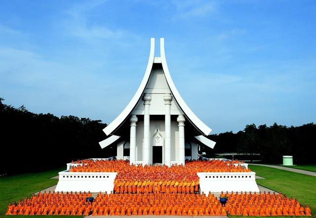 Temple thailand wat, religion.