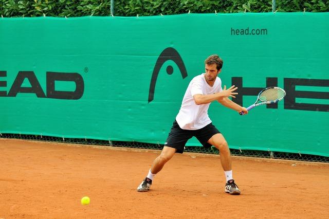 Tennis head ramos vinolas, sports.