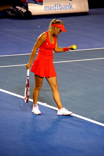 Tennis player caroline wozniacki tennis, beauty fashion.