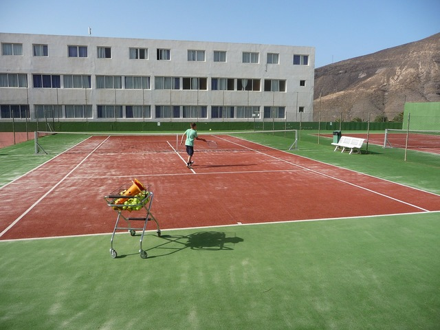 Tennis training tennis court, sports.