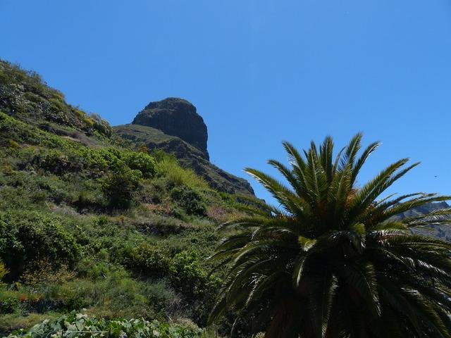 Teno mountains mountain palma, nature landscapes.