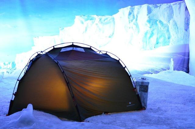 Tent arctic climatehouse.