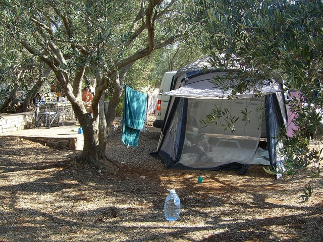 Tent holiday beach, travel vacation.