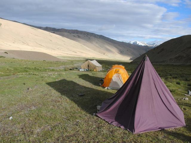 Tent sleep hiking.