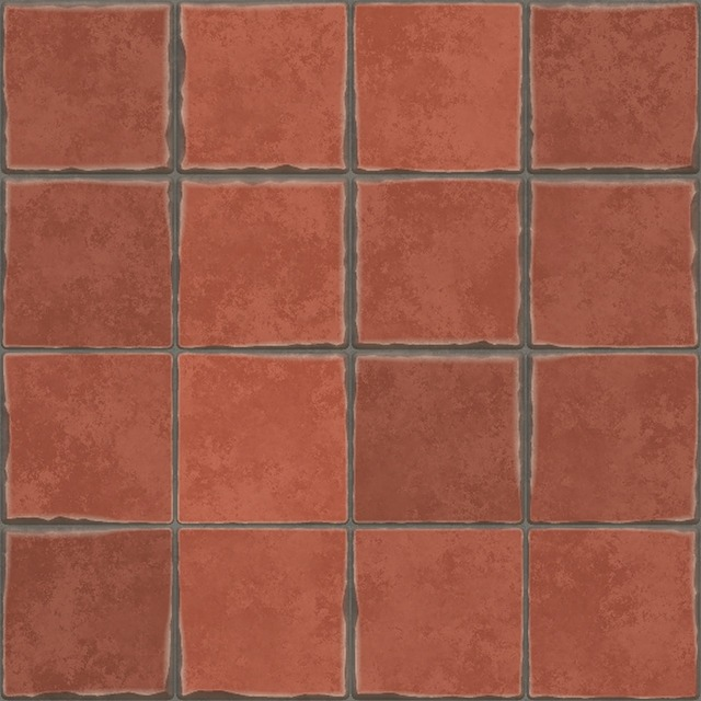 Terracotta tiles spanish tile hand-made, backgrounds textures.