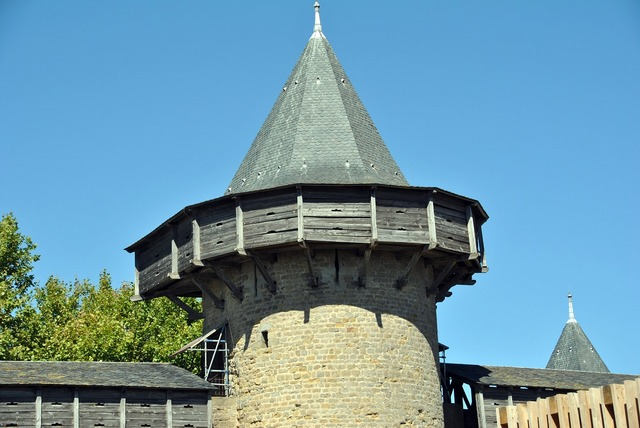 Texas slate tower.