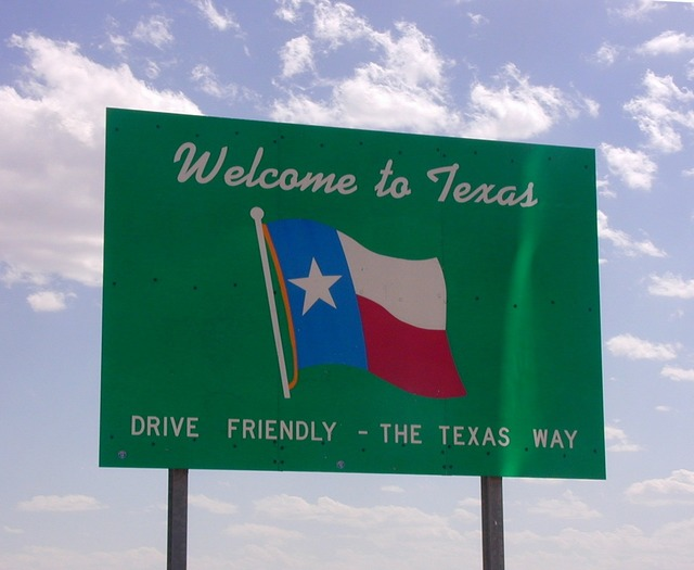 Texas usa welcome.