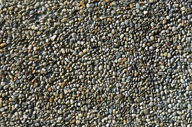 Texture pebble gravel concrete, backgrounds textures.