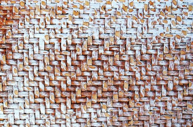 Texture raffia trunk, backgrounds textures.