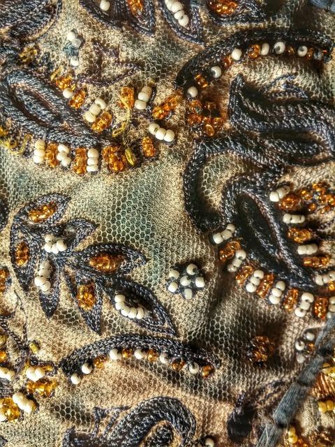 Texture textile beads, backgrounds textures.
